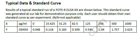 Human POTE-B ELISA Kit